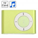 Lecteur MP3 TF Micro SD Carte avec clip en vert clair - wewoo.fr