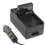 Chargeur Batterie GoPro Appareil photo numérique de voiture 4 AHDBT-401 - wewoo.fr