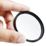 Filtre UV appareil photo 52 mm numérique en alliage d'aluminium Cadre Objectif Noir - wewoo.fr
