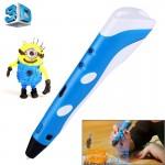 Imprimante 3D main Pen impression 3D, Plug-UE Bleu - wewoo.fr