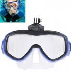Masque de plongée GoPro Équipement Sports nautiques Lunettes natation HERO4 / 3 + 3/2/1 - wewoo.fr