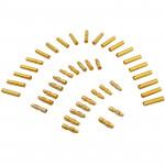 Module 4.0mm plaqué or Banana / Connecteurs Bullet avec Thermorétractables Tubes 20 paires - wewoo.fr