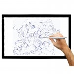 Tablette graphique Ultra LED USB réglable mince Light Board lumière Tracing Pad - wewoo.fr