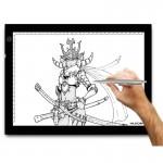 Tablette graphique 17,7 pouces LED Lumière Tracing Pad Artcraft Light Box - wewoo.fr