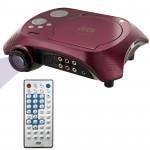 Vidéoprojecteur DVD Home cinéma portable projecteur avec fonction TV récepteur PAL / NTSC SECAM AV IN OUT et du jeu le suppor...