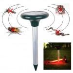 Anti insectes Répulsifs RC-501 Solar Power ultrasons Rongeur Mole Rat Souris Pest Gopher Anti-Rongeurs - wewoo.fr