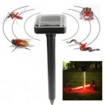 Anti insectes Répulsifs RC-507 solaire Puissance Souris Rat Portable Rongeur Mole Pest Répulsif Sonic Garden Vague Repeller ...