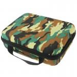 Mallette de rangement GoPro Motif camouflage EVA boîtier portable antichoc étanche 4 / 3+ 3/2/1, Taille: 21 cm x 16 6,5 N2428...