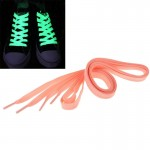 Lacets 2 PCS sport mode couleur fluorescente plat Lacet rose - wewoo.fr