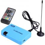Solutions DVB-T & ISDB-T Autonome Box TV / LCD Bleu - wewoo.fr