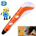 Imprimante 3D Impression main Pen, Plug-UE Orange - wewoo.fr