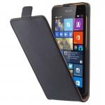 Housse en cuir Microsoft Vertical Bouton magnétique flip étui Lumia 535 n°2 - wewoo.fr