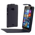 Housse en cuir Microsoft Vertical Bouton magnétique flip étui Lumia 535 - wewoo.fr