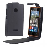 Housse en cuir Microsoft Vertical Bouton magnétique flip étui Lumia 532 - wewoo.fr