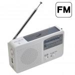 accessoires solaires Multifonction portable solaire / Cranked Dynamo Power LED lde poche avec Radio AM et chargeur téléphone ...