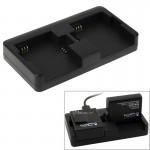 Chargeur Batterie GoPro Double de Hero4 / 3+ 3 - wewoo.fr