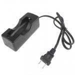Chargeur de piles batterie 18650, sortie: 4.2V / 650mA, Plug-US Noir - wewoo.fr