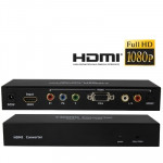 Switch HDMI Sélecteur multimédia vers YPbPr / VGA - wewoo.fr