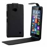 Housse en cuir Microsoft Vertical Bouton magnétique flip étui Lumia 640 - wewoo.fr