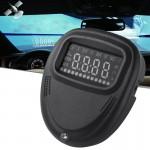 Affichage tête haute A1 2.0 pouces HUD GPS voiture Head Up Display Système de sécurité monté sur véhicule, support vitesse et...