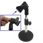 Support Microphone de bureau ajustable microphone, Hauteur: 12.5-25.5cm - wewoo.fr