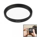 Filtre UV appareil photo 43mm SLR Camera Filter Noir - wewoo.fr