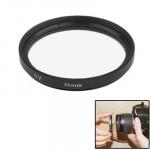 Filtre UV appareil photo 46mm SLR Caméra Noir - wewoo.fr