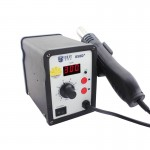 Pistolet à chaleur MEILLEUR BST-858d + AC 220V 50Hz 650W LED Displayer température réglable Sans plomb air chaud avec Helical...