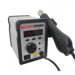 Pistolet à chaleur MEILLEUR BST-2008D AC 220V 50Hz 700W LED Displayer température réglable Sans plomb air chaud avec Helical ...