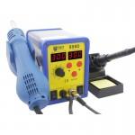 Pistolet à chaleur MEILLEUR BST-898D 2 en 1 AC 220V 720W LED Displayer Helical Vent température réglable Sans plomb air chaud...