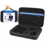 Mallette de rangement GoPro étui transport et étanche HERO6 / 5/4 Session 4/3 + 3/2/1, U6000 accessoires, grande taille: 32cm...