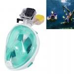Masque de plongée GoPro Sports nautiques Équipement sous-marine complet à sec Lunettes natation HERO4 / 3 + 3/2/1, L Taille v...