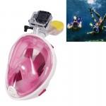 Masque de plongée GoPro Sports nautiques Équipement sous-marine complet à sec Lunettes natation HERO4 / 3 + 3/2/1, M Taille r...