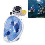 Masque de plongée GoPro Sports nautiques Équipement sous-marine complet à sec Lunettes natation HERO4 / 3 + 3/2/1, M Taille B...