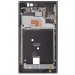 Boitier intégral Nokia logement avant Lumia 925 Noir - wewoo.fr