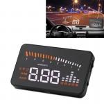 Affichage tête haute X5 3.5 pouces voiture HUD OBDII / EUOBD monté sur véhicule Head Up Display Système de sécurité, support ...