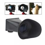 Viseur Ecran appareil photo 2,8X 3 pouces LCD Canon 600D / 60D T3i V3 Noir - wewoo.fr