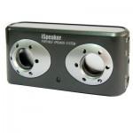 Enceinte Bluetooth d'intérieur Haut-parleur Rechargeable Stéréo Portable iBest Noir - wewoo.fr