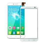 Pièces détachées Alcatel tactile de remplacement l'écran One Touch Idol 2 / OT6037 6037 6037Y Blanc - wewoo.fr