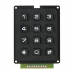 Mini clavier 3 x 4 12 touches - wewoo.fr