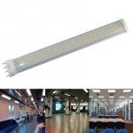 Tube LED 15W / 1200lm Haute Qualité Aluminium Matériau traction lumière blanche d'économie d'énergie Tube, Type de base: PL ...