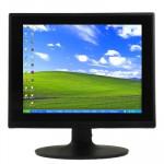 Moniteur LCD 15 pouces 4: 3 écran à cristaux liquides, Interface: D-SUB, Résolution maximale: 1024 x 768 - wewoo.fr
