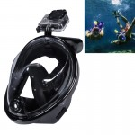 Masque de plongée GoPro Sports nautiques Équipement sous-marine complet à sec Lunettes natation HERO4 / 3 + 3/2/1, M Taille N...
