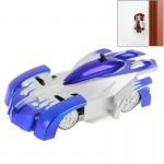 Voiture télécommandée Télécommande infrarouge Refroidir supérieure jouet RC mur d'escalade Grimpeur Stunt Car Bleu - wewoo.fr