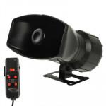 Système d'alarme Voiture 5 Tonalité sirène électronique avec microphone - wewoo.fr