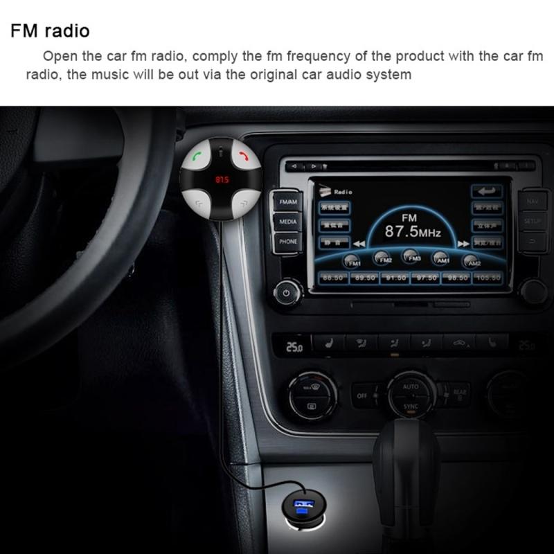 transmetteur fm iphone fm29b bluetooth kit mains libres de voiture chargeur l 39 ip ebay. Black Bedroom Furniture Sets. Home Design Ideas