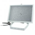 Lumière auxiliaire caméra CCD 216 LED la CCD, IR Distance: 200m ZT-200WF, Taille: 17x25x13.5cm Blanc - wewoo.fr
