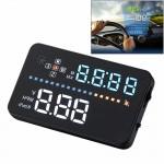 Affichage tête haute A3 3.5 pouces voiture GPS HUD / OBD monté sur véhicule Gator automobile Head Up Display Système de sécur...
