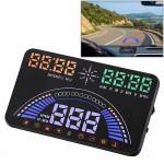 Affichage tête haute HUD S7 5,8 pouces GPS auto / OBD2 Gator Automotive Head monté sur véhicule Up Display Système de sécurit...