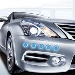Autocollant anti choc voiture 10 PCS anti-collision Styling bleu - wewoo.fr